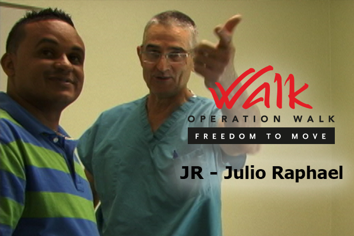 Operation Walk Freedom to Move | JR's Story
